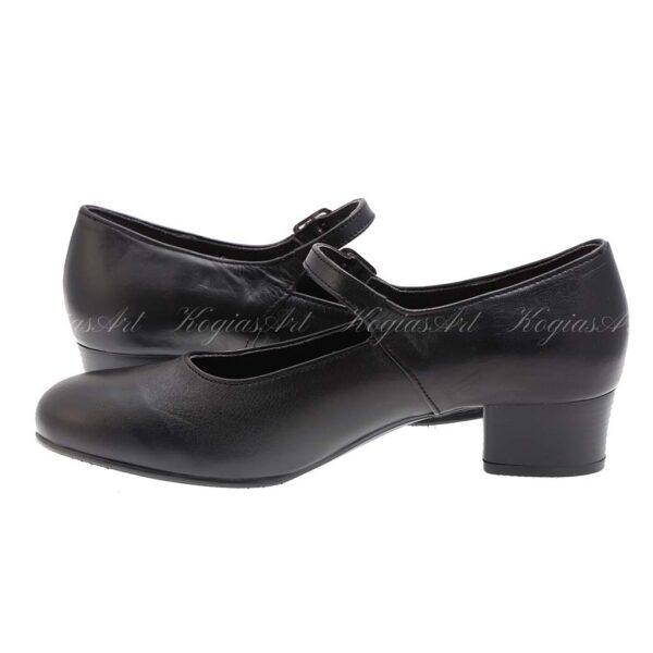 KogiasArtΓυναικεία Παπούτσια Χορού με Μπαρέτα & Τακούνι